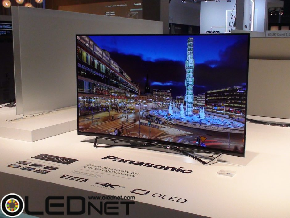 Panasonic OLED TV, IFA 2015