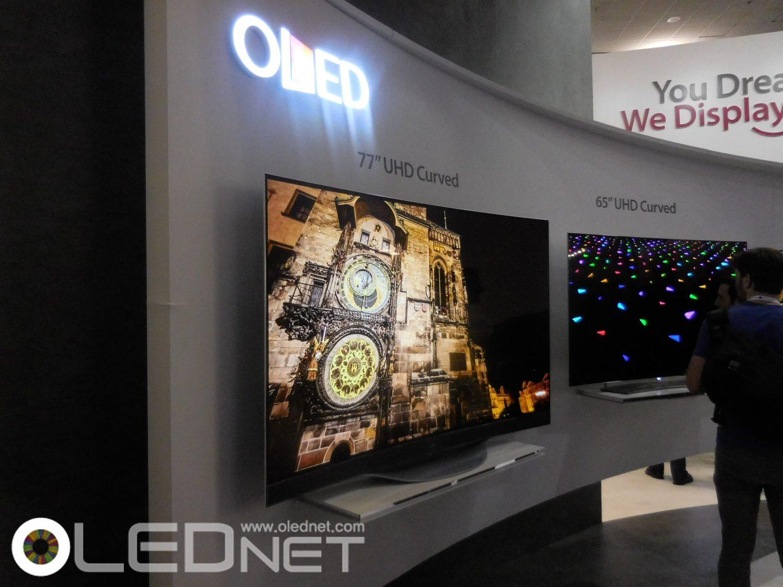 LG OLED UHD TV, SID 2015